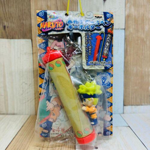 Banpresto 2004 Naruto Ballpoint Pen With Naruto Figure Keychain