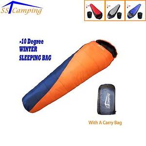 Brand New! -10°C Hooded Envelop SST Camping Sleeping Bag Clayton Monash Area Preview