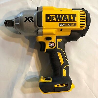 Dewalt Dcf897b Usa Made 20 Volt Max Xr 34 Brushless High Torque Impact Wrench