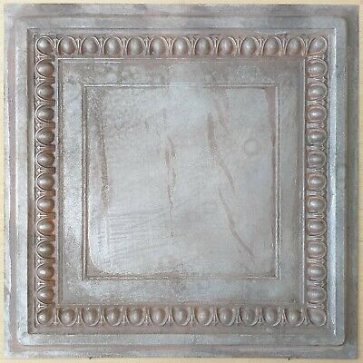 Metalized Ceiling Tiles Weathering Iron Hotel Decor Wall Panels Pl06 10pcslot