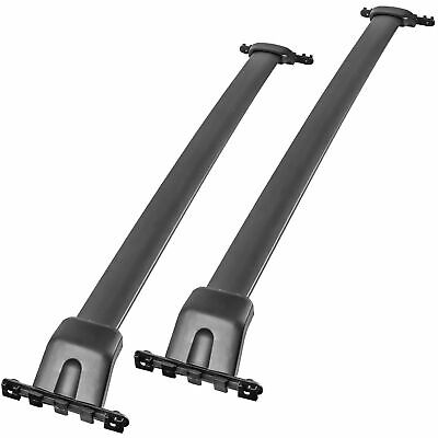 2pcs Roof Rack Cross Bar Crossbar For 09-15 Honda Pilot with Factory Side Rails