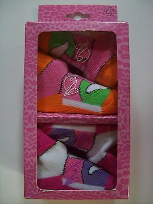 - Baby Phat Crib Shoes/Booties/Socks Infant Baby Girl 0-12 Mos Stylish Colors