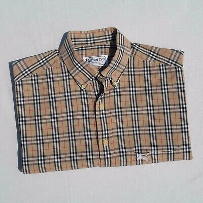 VINTAGE BURBERRY NOVA CHECK SHIRTS