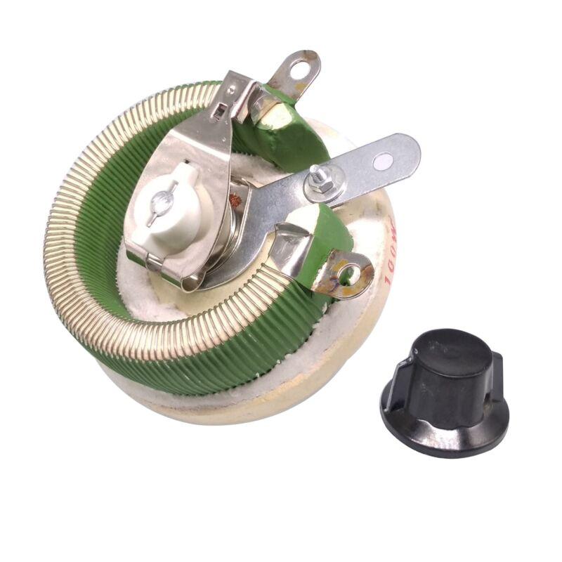 100W 10 OHM High Power Wirewound Potentiometer, Rheostat, Variable Resistor