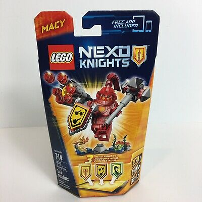 Lego Nexo Knights Ultimate Macy 70331 Building Kit Toy 101 Pieces Mini Figure
