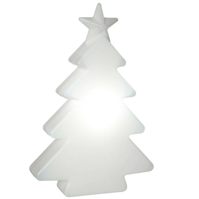 Large 3D Molded Pre-Lit Garden Christmas Tree Decoration -78cm