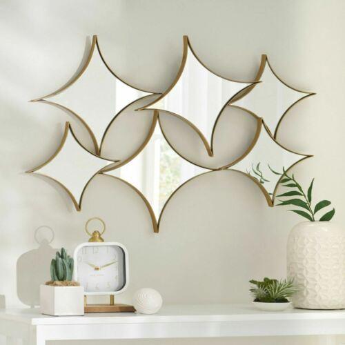 Murley Modern Glam Star Cluster Wall Mirror Home & Garden