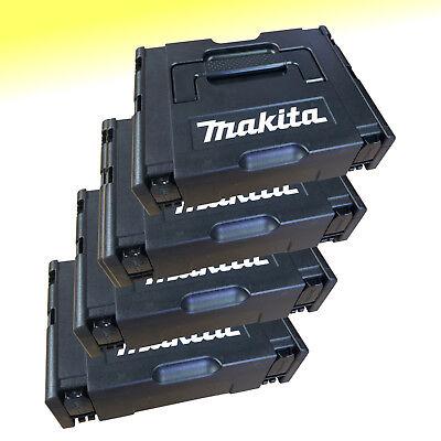 4 Stück Makita MakPac Gr. 1 Schwarz