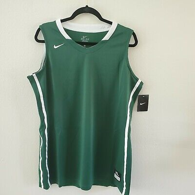 88dc8839a6fc Sz: XL | NIKE Womens Dri-Fit Basketball Practice Jersey | Green | 618506 |  NWT