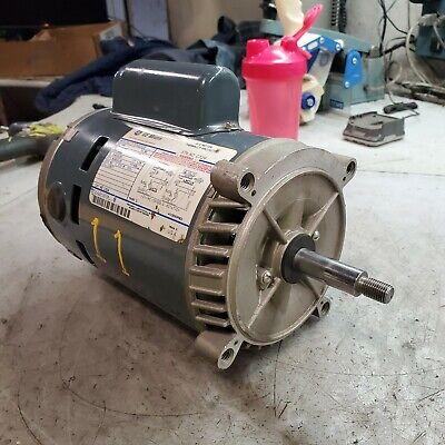 New Ge 13 Hp Electric Ac Motor 115230 Vac 3450 Rpm 56j Frame 1 Phase