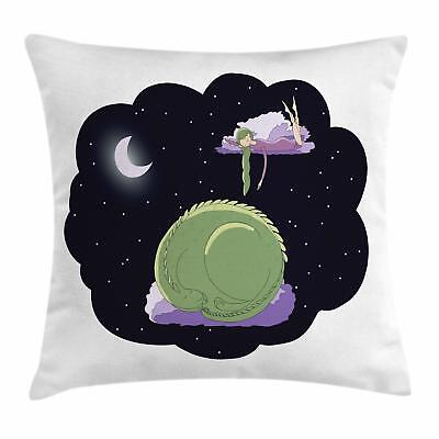 Nursery Throw Pillow Cases Cushion Covers by Ambesonne Home