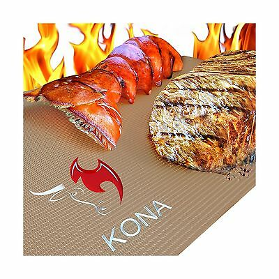 Kona Gold Grill   Bake Mats   New   Nonstick Heavy Duty Grill Accessories Bbq