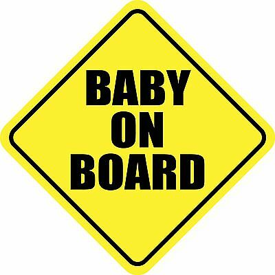 BABY ON BOARD STICKER DECAL SIGN MADE IN USA Buy 2, get 3rd FREE