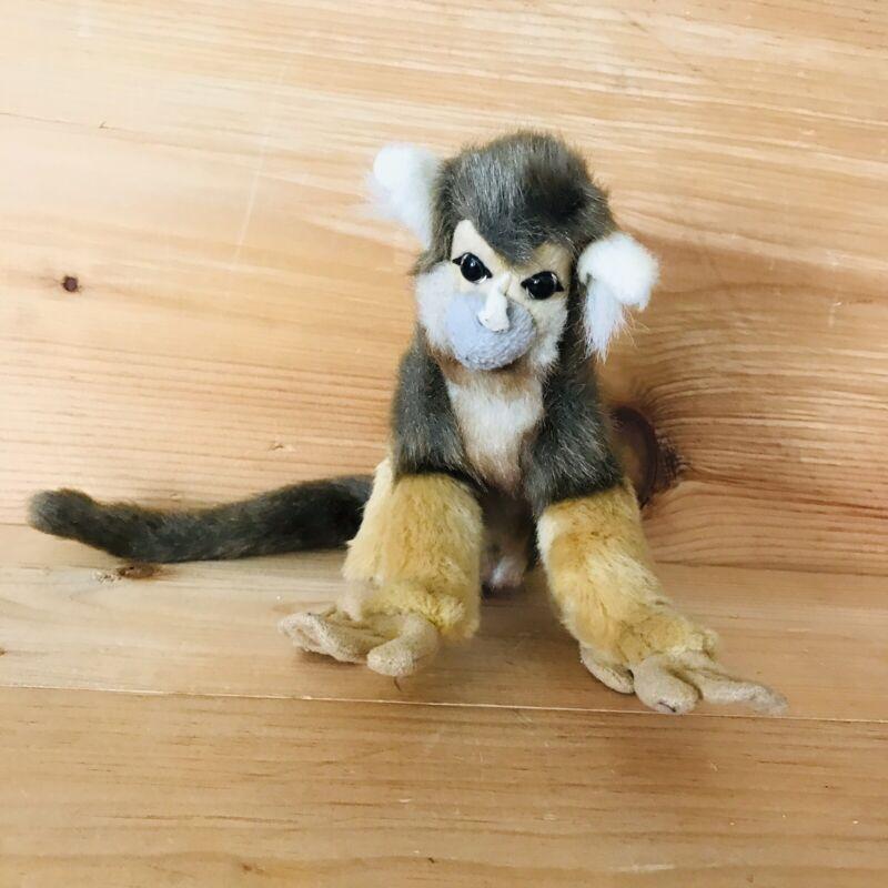 Hansa Squirrel Monkey 19 Cm Plush Cuddly Realistic Handmade Stuffed Animal ((25)