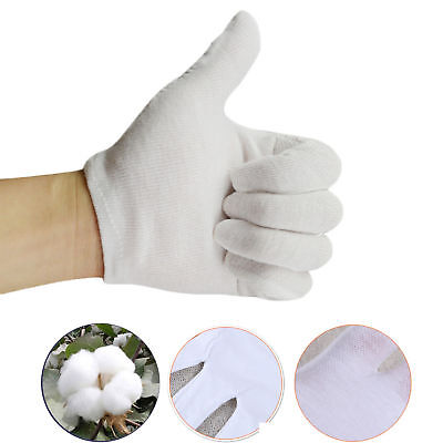 White Short Gloves - Captain Clown Magician Santa Halloween Fancy Dress Costume - White Magician Gloves