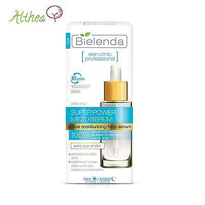 SKIN CLINIC PROFESSIONAL  Hydrating ANTI-AGE Day/Nigh SUPER MEZO Serum Bielenda