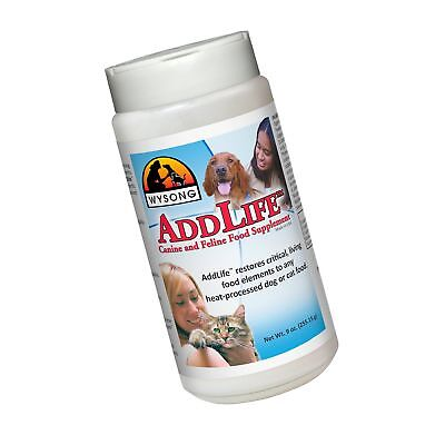 Wysong AddLife Canine/Feline Food Supplement For Dog/Cat - 9 Ou... Free Shipping