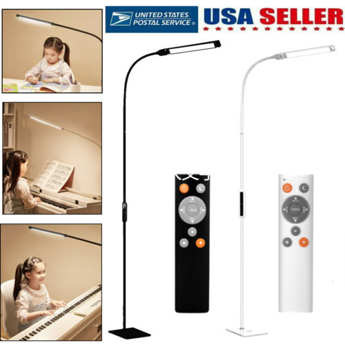 Modern Floor Lamp Adjustable Standing Dimmable LED Light For