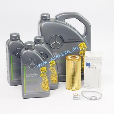 Original Mercedes Inspektionskit Ölservice E-S-Klasse W211 W220 + 8L Mercedes Öl