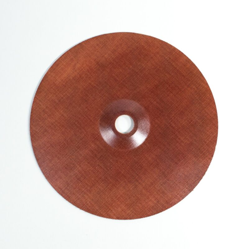 """9"""" Reinforced Phenolic Backing Plate with 7/8"""" Depressed Center Hole"""
