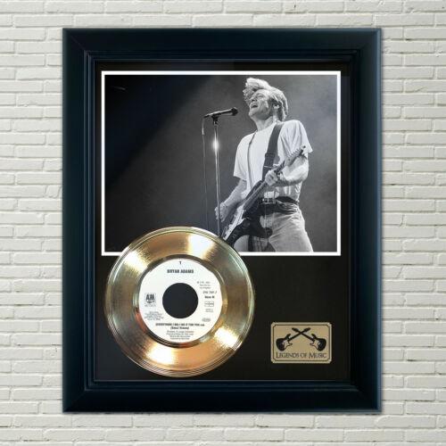 "Bryan Adams ""Everything I Do"" Framed Record Display"