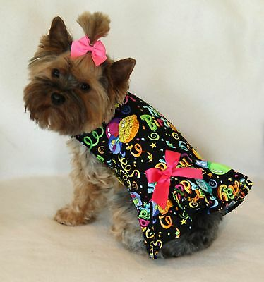 M Happy Birthday Dog dress clothes puppy pet apparel Medium PC Dog®