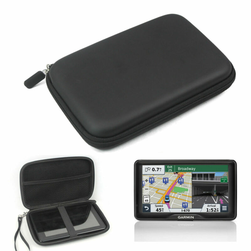Hard Shell Storage Carrying Travel Case Bag Fit For Garmin 7 Inch Gps Navigation
