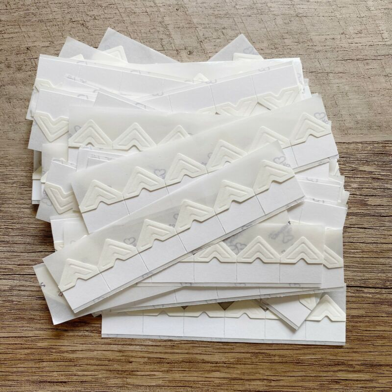 Scrapbook Adhesives by 3L Ivory Creative Photo Corners Scrapbooking Arts Crafts