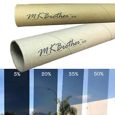 "Uncut Roll Window Tint Film 20% VLT 60"" In x 100' Ft Feet Car Home Office Glass"