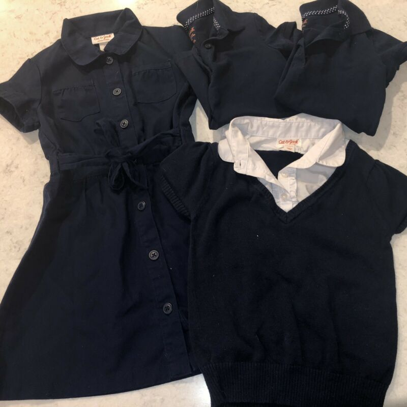 Lot Of Girls School Uniforms