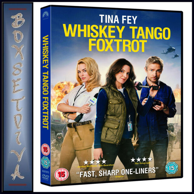 WHISKEY TANGO FOXTROT - TINA FEY & MARGOT ROBBIE *BRAND NEW DVD**