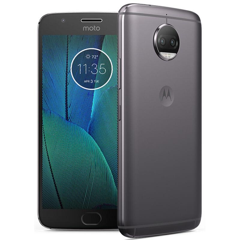 Motorola Moto G5S Plus 4G LTE with 32GB Memory Cell Phone (Unlocked) Lunar Gray PA6R0003US