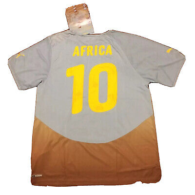 2010/11 Africa Unity Special Jersey #10 Africa XL World Cup ETO'O DROGBA NEW image