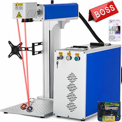 Fiber Laser Marking Machine 30w Engraving Machine Windows Xp7810 Laser Focus