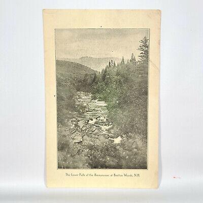 1918 Mount Washington Hotel Menu Bretton Woods New Hampshire NH Ammonoosuc