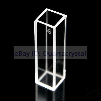 Optical Glass Fluorescence Cuvettes 1cm 10mm Fluorometer Cells Cuvettes 3.5ml