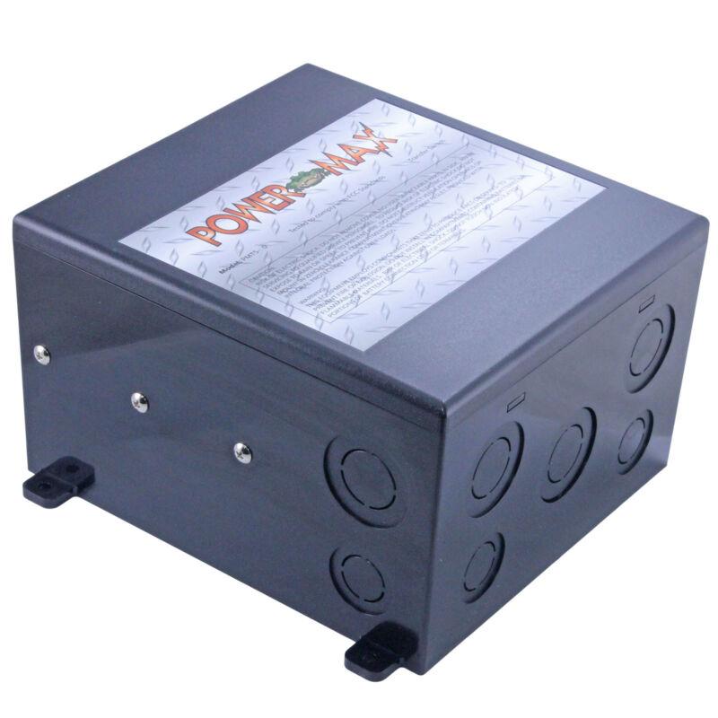 POWERMAX PMTS-50 AMP 120 240 VAC RV GENERATOR AUTOMATIC TRANSFER SWITCH