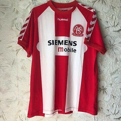 Aalborg BK Denmark  Home football shirt 2005  HUMMEL Soccer Jersey Size XL image