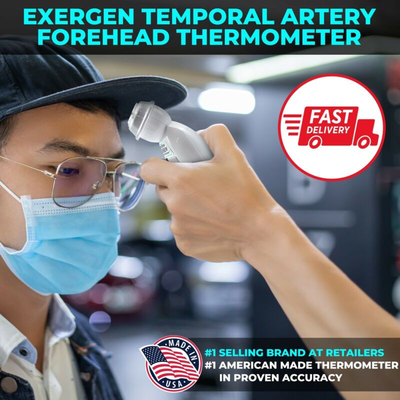 EXERGEN Temporal Artery Thermometer TAT-2000C.