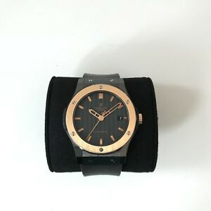 Hublot Classic Fusion Black Magic 18K Gold Rolex Tudor Omega IWC