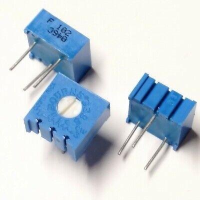 3 Pcs Bourns 1k Ohm Trimmer Resistor Potentiometer - Breadboard Pc Board