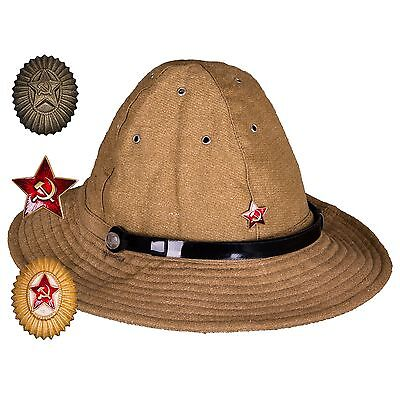 Russian USSR Soviet Red Army SOLDIER Uniform Afganka cap hat Panama - Soldier Hat