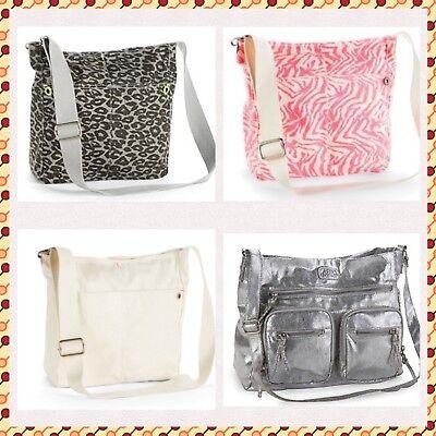 Zebra Animal Print Tote - Aeropostale Tote Bag Aero Bag Handbag Messenger Bag Animal Print Zebra Beige