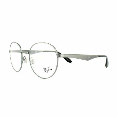 New Ray Ban Frames Titanium RETRO Round RX Eyeglasses RX6343 2595 (New Rayban Glasses)