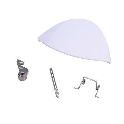 weiße Tür Griff Kit für W101 W123 W113 WA115 Hotpoint Indesit Waschmaschinen ()