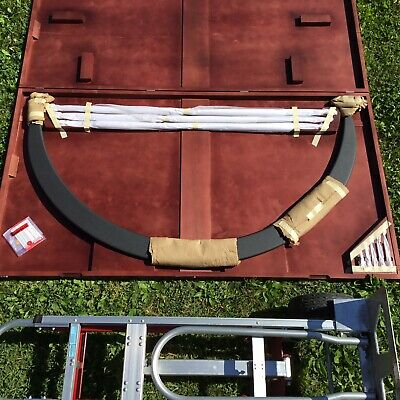 Large Starrett Outside Micrometer 48 To 54 In Case New Old Stock List 3562