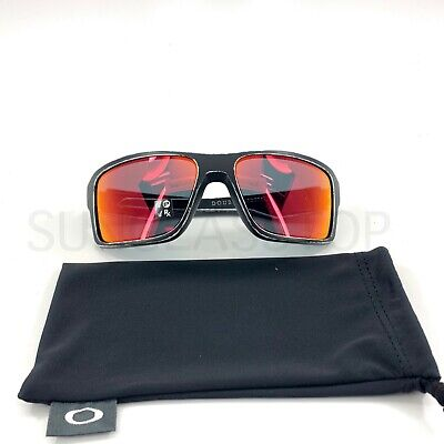 NEW Oakley OO9380-2566 Double Edge Raceworn White / Torch Iridium Polarized (Torch Iridium Polarized)
