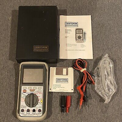 Craftsman Professional Multimeter 82356