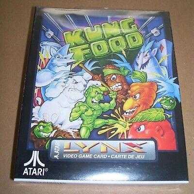Vintage Atari Lynx video game handheld console Kung Food NEW BOXED sealed PA2076