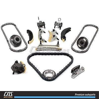Timing Chain Kit for 04-07 Lacrosse Cadillac CTS SRX STS 9-3 Aura XL-7 2.8L 3.6L